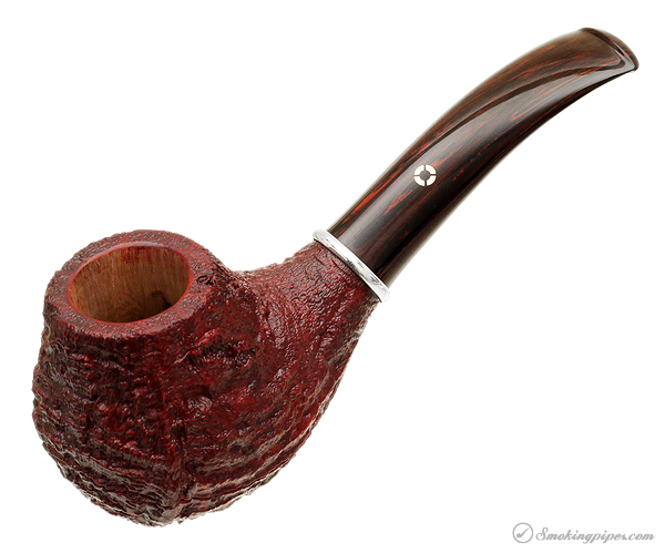 American Estate Larry Roush Sandblasted Bent Apple with Silver (L1) (1765) (2010)