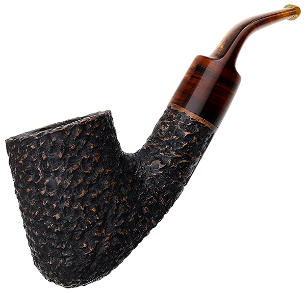 American Estate J.M. Boswell Rusticated Bent Pot (D.B.) (2017)