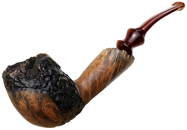 American Estate J.M. Boswell Partially Rusticated Bent Egg (2010)