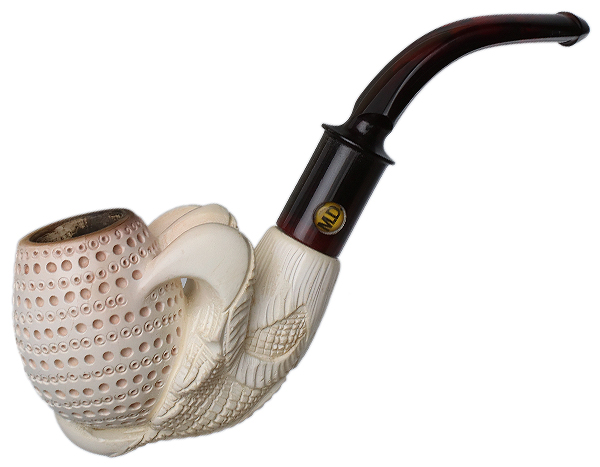Turkish Estates M.D. Meerschaum Claw (with Tamper and Case)