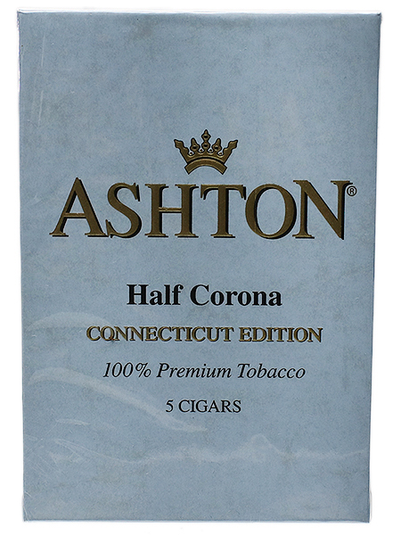 Ashton Connecticut Half Corona (5-pack)