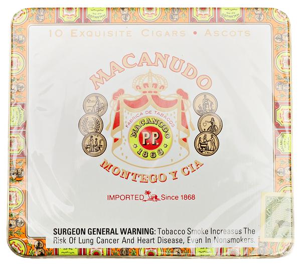 Macanudo Ascots Cafe