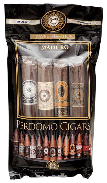 Perdomo 4 Pack Humidified Bag Maduro