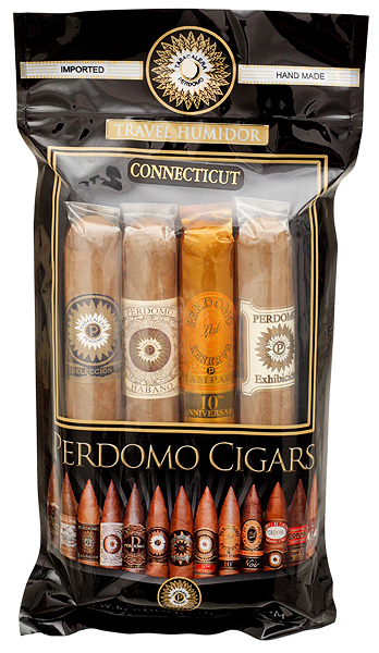 Perdomo 4 Pack Humidified Bag Connecticut