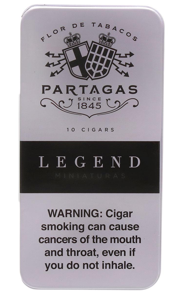 Partagas Legend Minis Tin of 10
