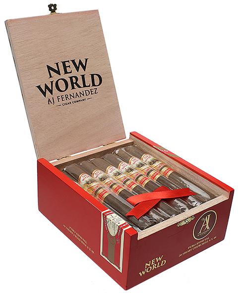 AJ Fernandez New World Puro Especial Short Churchill