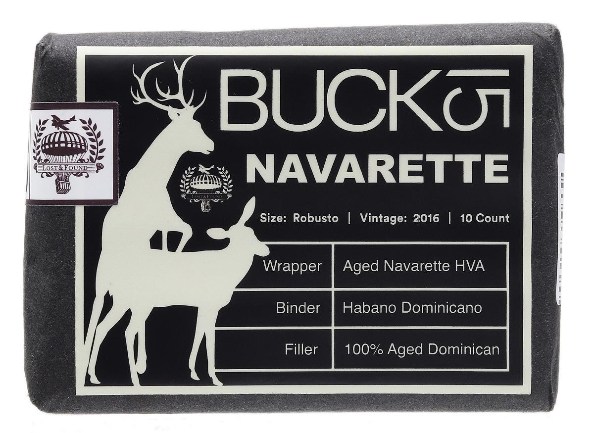 Lost & Found Buck 15 Navarrete Robusto (10 Pack)