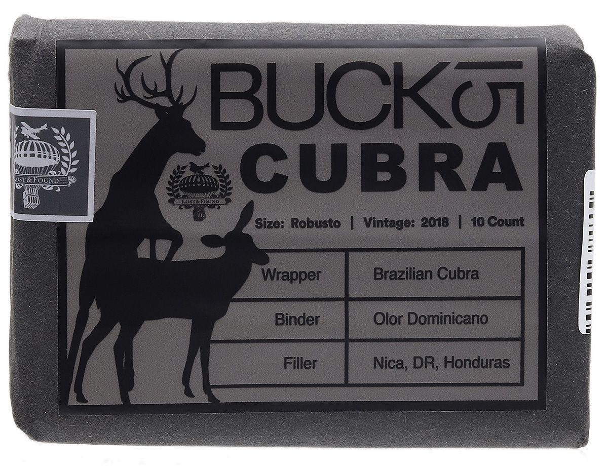 Lost & Found Buck 15 Cubra Robusto (10 Pack)