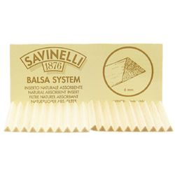 Pipe Tools & Supplies Savinelli 6mm Balsa Filters (20/pack)
