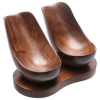 Stands & Pouches Indian Walnut 2 Pipe Stand