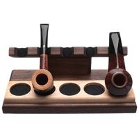 Stands & Pouches Neal Yarm Tilt Head 5 Pipe Stand Walnut/Maple