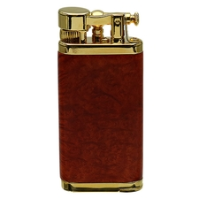 Lighters IM Corona Old Boy Smooth Briar Case