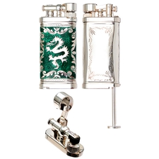 Lighters Sillem's Old Boy Linea Epoque Green Dragon