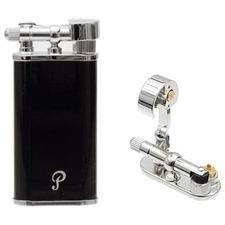 Lighters Peterson Pipe Lighter Black