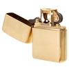 Lighters Zippo Armor Brushed Brass Pipe Lighter
