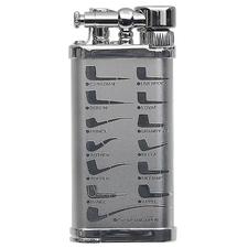 Lighters IM Corona Old Boy Rhodium Pipe Design