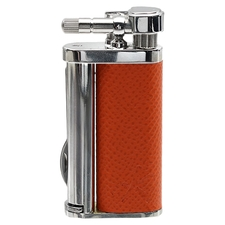Lighters Kiribi Tomo Orange Leather