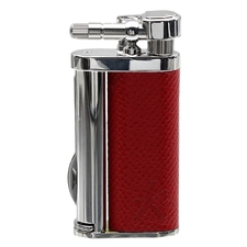 Lighters Kiribi Tomo Red Leather