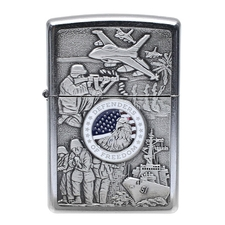 Lighters Zippo Joint Forces Street Chrome Pipe Lighter