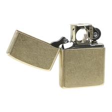 Lighters Zippo Armor Tumbled Brass Pipe Lighter
