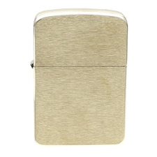 Lighters Zippo Brushed Brass 1941 Replica Lighter
