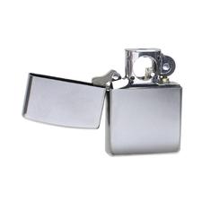Lighters Zippo Satin Chrome Pipe Lighter