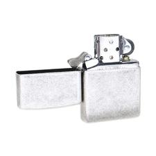 Lighters Zippo Antique Silver Plate Lighter