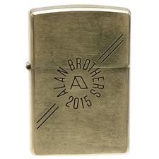 Lighters Alan Brothers Brass Zippo Pipe Lighter