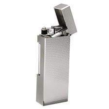 Lighters Dunhill Rollagas Barley Palladium Plate