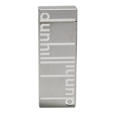 Lighters Dunhill Rollagas Signature Palladium Plate