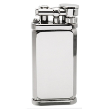 Lighters Dunhill Unique Octagonal Silver Plate