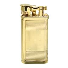Lighters Dunhill Unique Art Deco Gold Plate