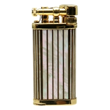 Lighters IM Corona Old Boy 2018 Lighter of the Year Gold Plated Mother of Pearl Inlay