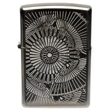 Lighters Zippo Gray Iced Pipe Lighter