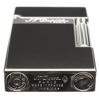 Lighters S.T. Dupont Lighter Ligne 2 Palladium Black Lacquer