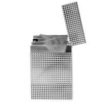 Lighters S.T. Dupont Lighter Ligne 2 Diamond Head Silver
