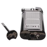 Lighters Xikar Pipeline Soft-Flame Lighter Black Plated
