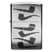 Lighters Zippo Stacked Pipes Pipe Lighter