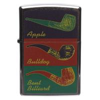 Lighters Zippo Apple, Bulldog, Bent Billiard Pipe Lighter