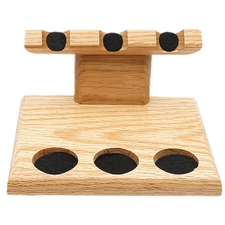 Pipe Accessories Neal Yarm 3 Pipe Stand Oak