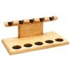 Pipe Accessories Neal Yarm Tilt Head 5 Pipe Stand Oak
