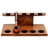 Pipe Accessories Neal Yarm 5 Pipe Stand Mahogany
