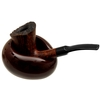 Pipe Accessories Savinelli Goccia Ceramic Single Pipe Stand Brown