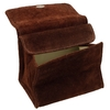 Pipe Accessories Peterson Brown Suede Tobacco Pouch