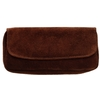 Pipe Accessories Peterson Brown Suede Combo 1 Pipe Tobacco Pouch