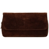 Pipe Accessories Peterson Brown Suede Combo 2 Pipe Tobacco Pouch