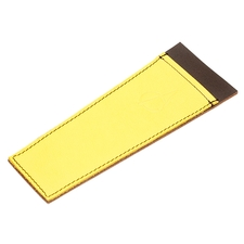 Pipe Accessories Claudio Albieri Leather Cleaners Holder Yellow