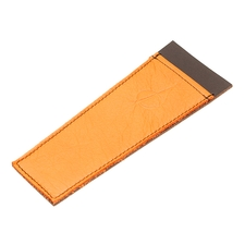 Pipe Accessories Claudio Albieri Leather Cleaners Holder Orange