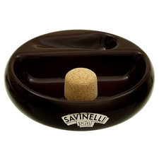 Ashtrays Savinelli Ceramic 1 Pipe Brown Ashtray