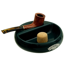Ashtrays Savinelli Ceramic 1 Pipe Green Ashtray